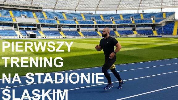 Trening Stadion Śląski